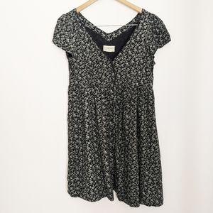 Denim & Supply Ralph Lauren Floral V-Neck Dress M